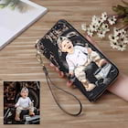 Personalized Leather Double Sided Photo Women's Wallet