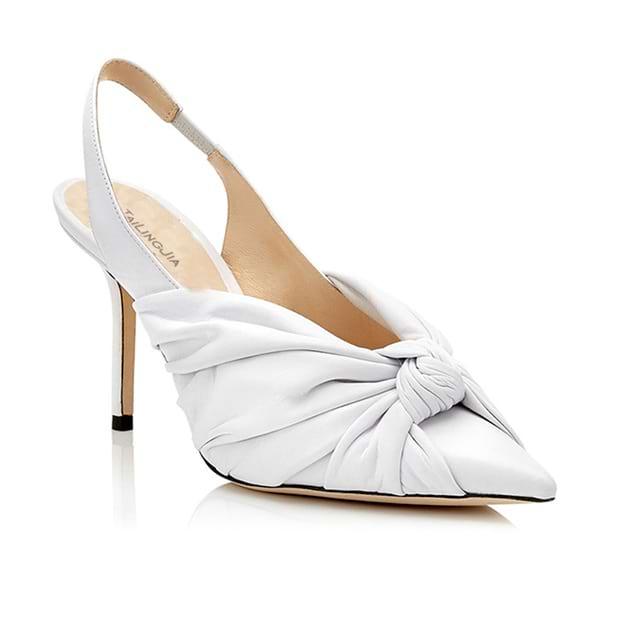 Women's PU Close Toe Heels SlingBacks Fashion Shoes