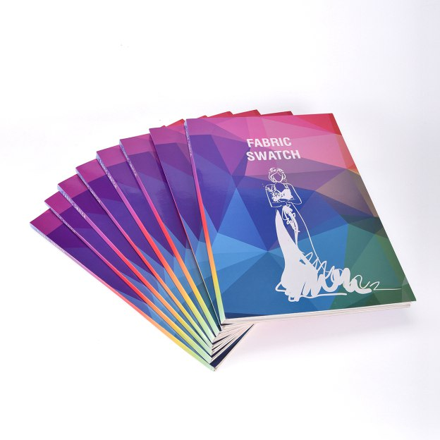 5-Piece*41-Color Fabric Swatch Book(Size:380Mm*250Mm*12Mm)