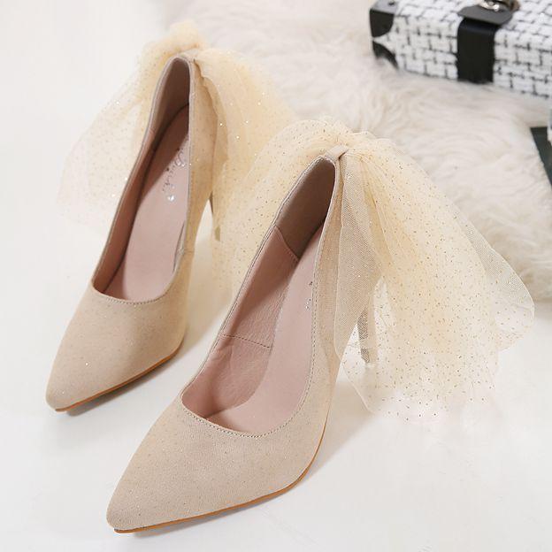 Women's Leatherette Close Toe Heels Pumps Fashion Shoes