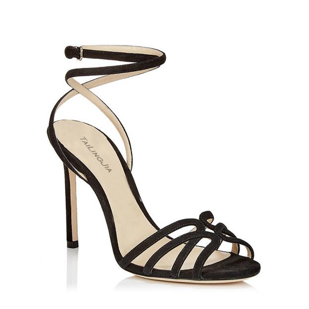 Women's PU With Buckle Heels Sandals SlingBacks Fashion Shoes