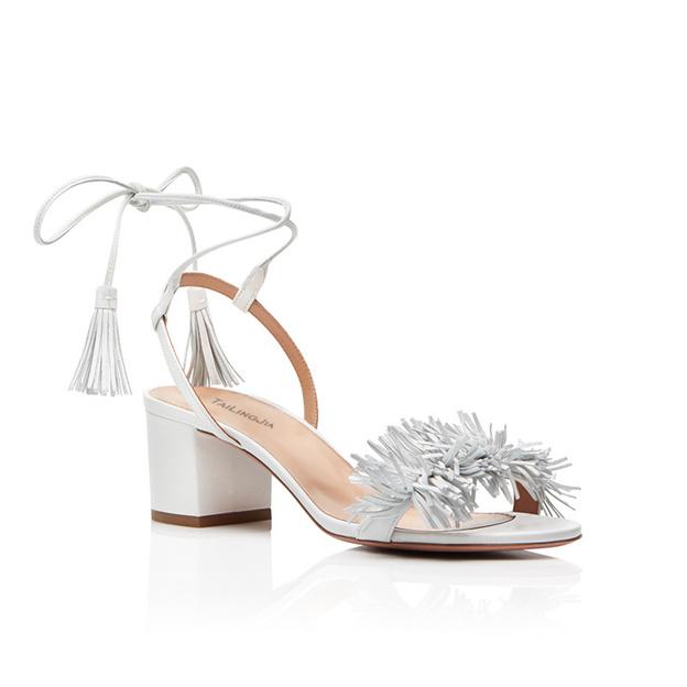 Women's PU With Lace-up Heels Peep Toe SlingBacks Fashion Shoes