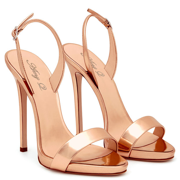 Women's PU With Buckle Heels Peep Toe SlingBacks Fashion Shoes