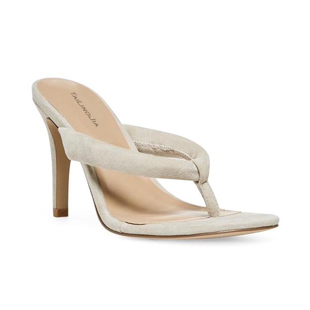 Women's Velvet Flip Flops Heels Fashion Shoes