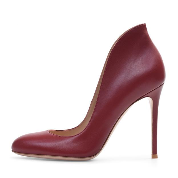 Women's PU Close Toe Heels Fashion Shoes